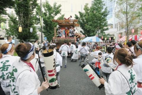 「ふるさと田中みこし祭り」①