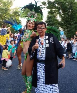 「ふるさと田中みこし祭り」⑮