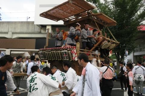 「ふるさと田中みこし祭り」㉚