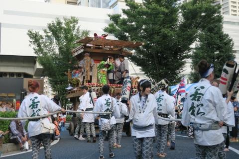 「ふるさと田中みこし祭り」㉟