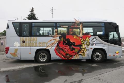「石岡のおまつりラッピングバス」 (2)