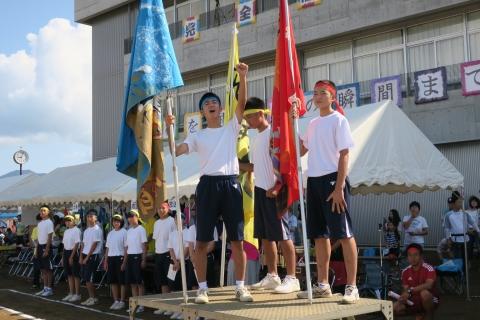 「石岡市内中学校体育祭」②