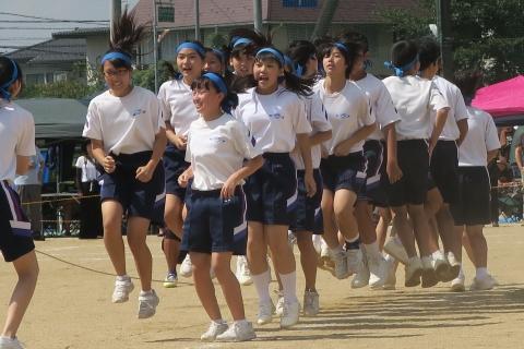 「石岡市内中学校体育祭」⑧
