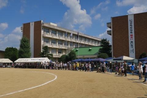 「石岡市内中学校体育祭」⑩
