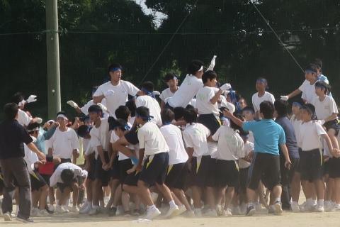 「石岡市内中学校体育祭」㉔