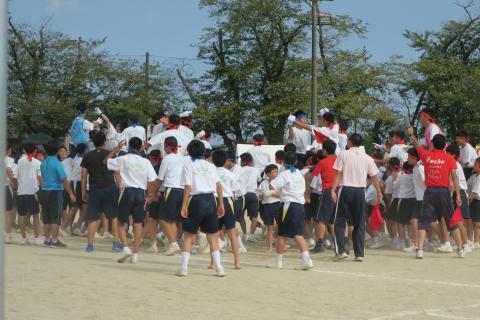 「石岡市内中学校体育祭」㉗