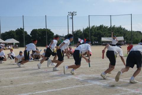 「石岡市内中学校体育祭」㉘