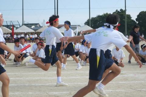「石岡市内中学校体育祭」㉙