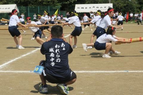 「石岡市内中学校体育祭」 (4)