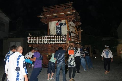 「常陸國總社宮例大祭」たたき初め⑮