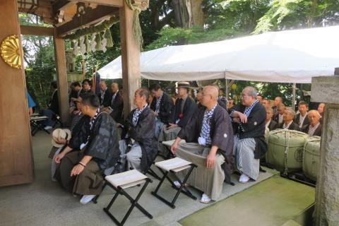 「9月15日常陸國總社宮例大祭」例祭⑦