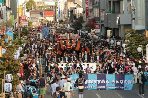 「平成29年9月17日幌獅子パレード」待機図・巡行順番表 (3)
