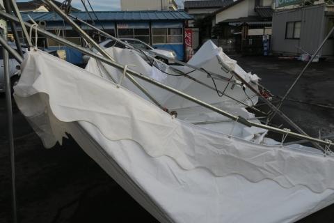 「テントが飛んでしまいました!」④