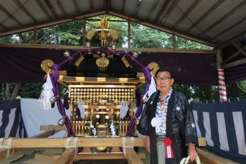 「平成29年9月16日神幸祭」神輿渡御①