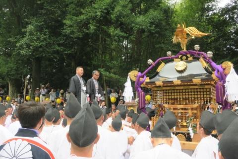 「平成29年9月16日神幸祭」神輿渡御②