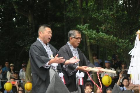 「平成29年9月16日神幸祭」神輿渡御③