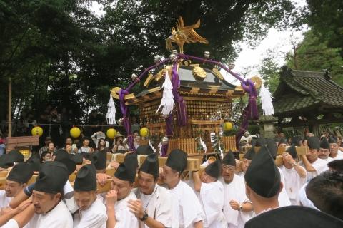 「平成29年9月16日神幸祭」神輿渡御④