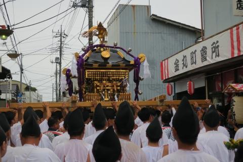 「平成29年9月16日神幸祭」神輿渡御⑥