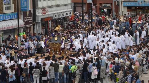 「平成29年9月16日神幸祭」神輿渡御⑦