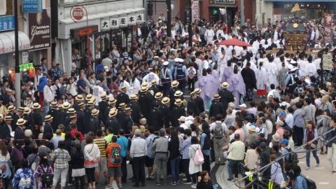 「平成29年9月16日神幸祭」神輿渡御⑧