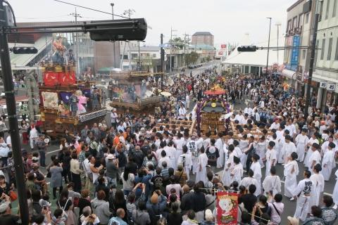 「平成29年9月16日神幸祭」神輿渡御⑩