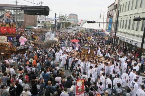「平成29年9月16日神幸祭」神輿渡御⑪