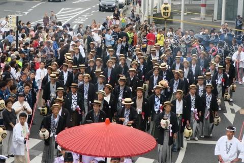 「平成29年9月16日神幸祭」神輿渡御⑫