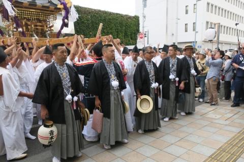 「平成29年9月16日神幸祭」神輿渡御⑮