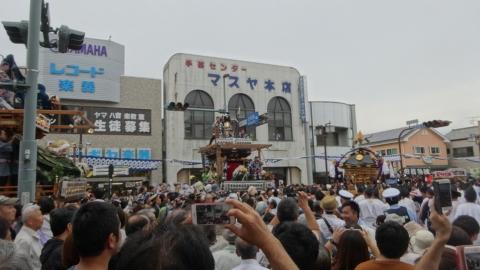 「平成29年9月16日神幸祭」神輿渡御⑯