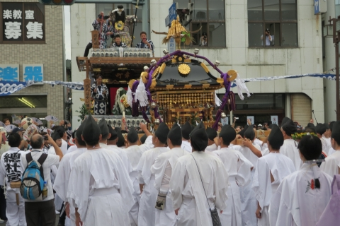 「平成29年9月16日神幸祭」神輿渡御⑰