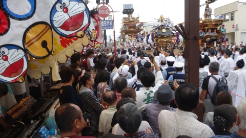 「平成29年9月16日神幸祭」神輿渡御⑱