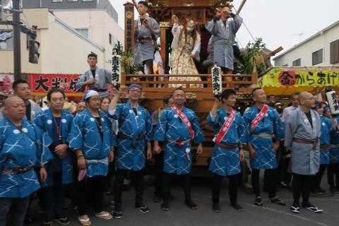 「平成29年9月16日神幸祭」神輿渡御㉑