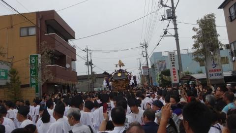 「平成29年9月16日神幸祭」神輿渡御㉒