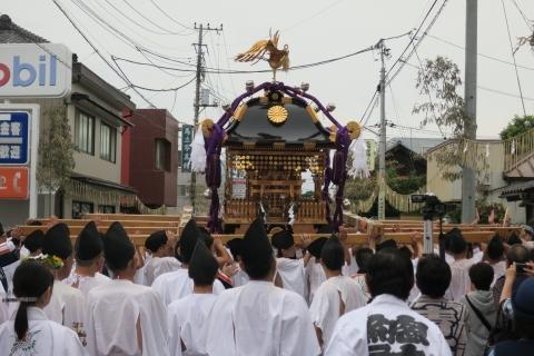 「平成29年9月16日神幸祭」神輿渡御㉓