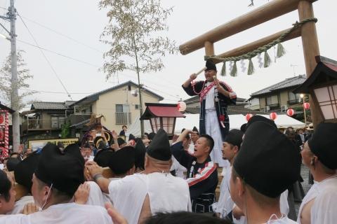 「平成29年9月16日神幸祭」神輿渡御㉔