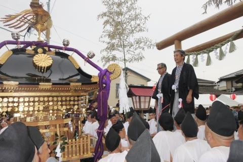「平成29年9月16日神幸祭」神輿渡御㉕