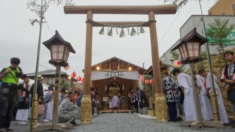 「平成29年9月16日神幸祭」神輿渡御㉗