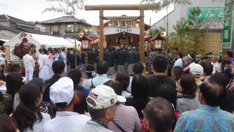 「平成29年9月16日神幸祭」神輿渡御㉘