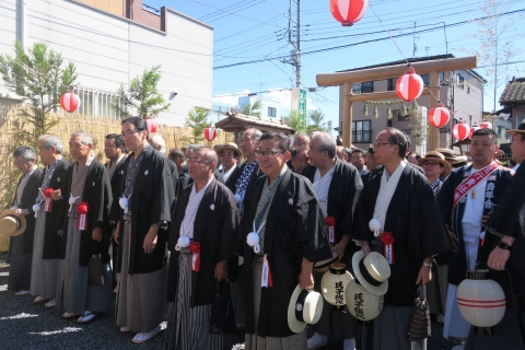 「平成29年9月18日還幸祭」神輿渡御 (3)
