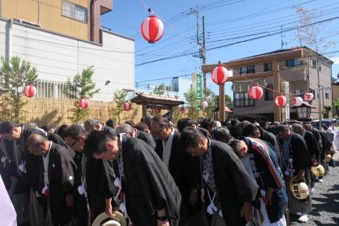 「平成29年9月18日還幸祭」神輿渡御 (4)