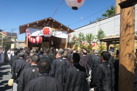 「平成29年9月18日還幸祭」神輿渡御 (6)
