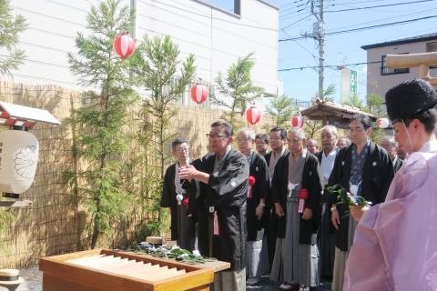 「平成29年9月18日還幸祭」神輿渡御 (5)