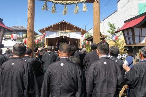 「平成29年9月18日還幸祭」神輿渡御 (7)