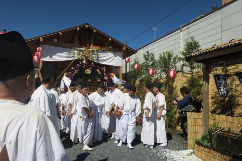 「平成29年9月18日還幸祭」神輿渡御 (8)