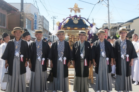 「平成29年9月18日還幸祭」神輿渡御 (12)