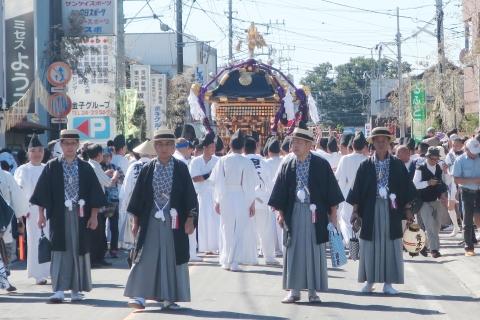 「平成29年9月18日還幸祭」神輿渡御 (15)
