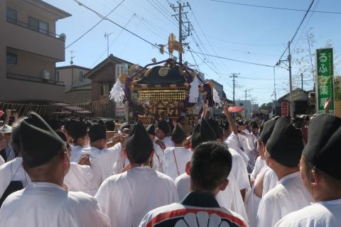 「平成29年9月18日還幸祭」神輿渡御 (16)