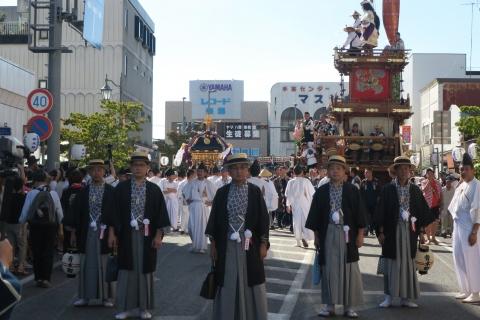 「平成29年9月18日還幸祭」神輿渡御 (20)