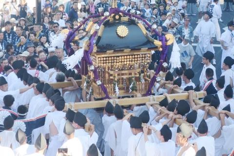 「平成29年9月18日還幸祭」神輿渡御 (33)