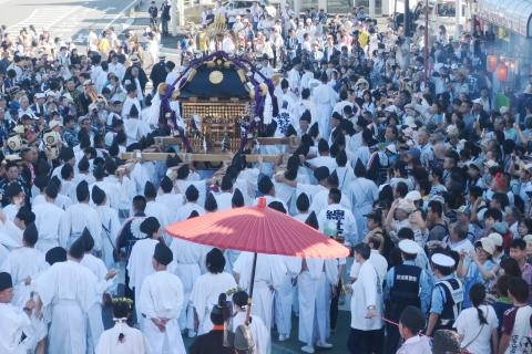 「平成29年9月18日還幸祭」神輿渡御 (34)